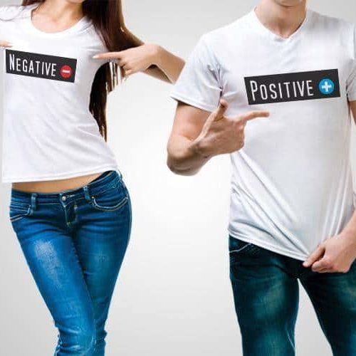 Positive Negative T-Shirts