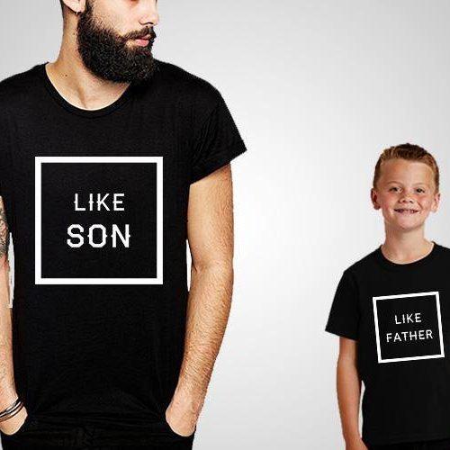 Like Father Like Son T-Shirts