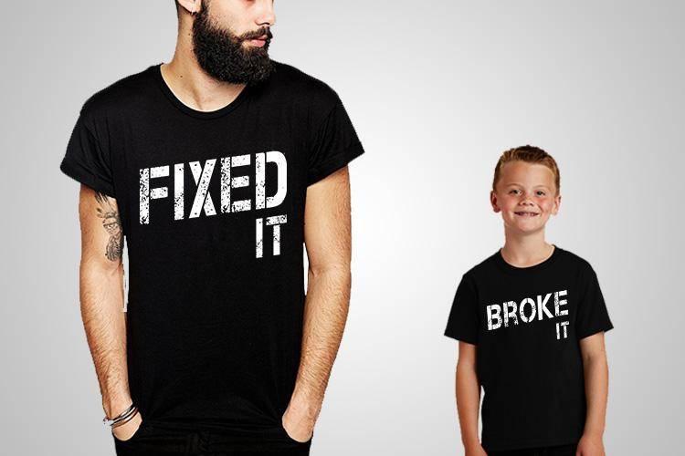 Fixed It Broke It T-Shirts