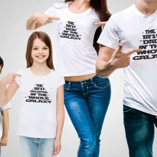 The Best Family In The Galaxy T-Shirt
