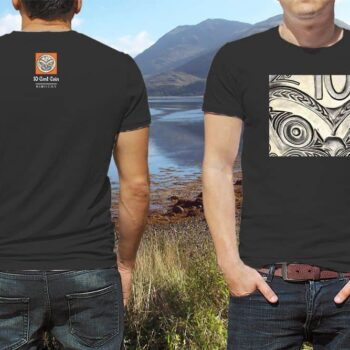 Ten Cents Kiwiizms Printed T-Shirt