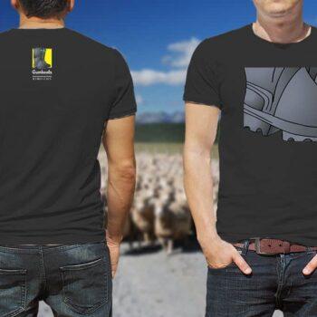Gumboot Kiwiizms Printed T-Shirt
