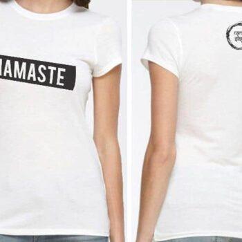 Namaste Printed T-Shirt