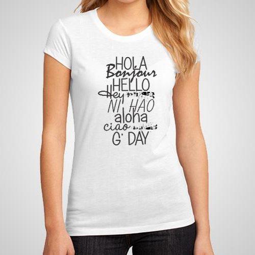 Greetings Printed T-Shirt