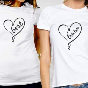 Best Bitches Printed T-Shirts