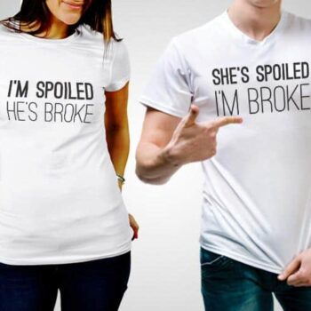 Spoiled And Broke T-Shirt