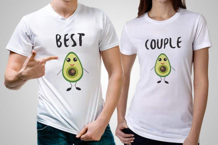 Best Couple Printed T-Shirts