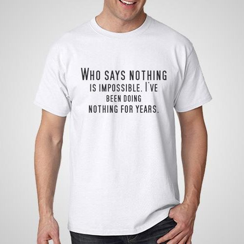 Nothing Is Impossible Printed T-Shirt