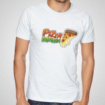 Pizzamania Printed T-Shirt