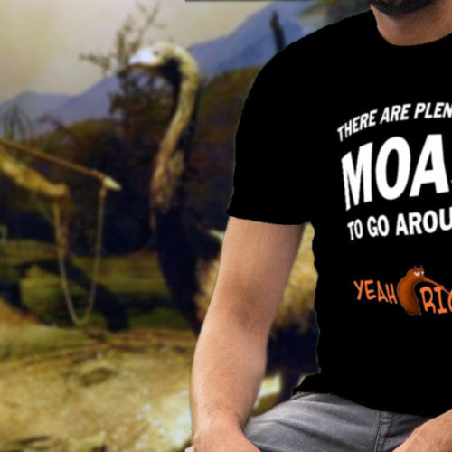 There Are Plenty Of Moas To Go Around T-Shirt