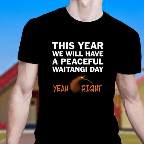 Peaceful Waitangi Day T-Shirt