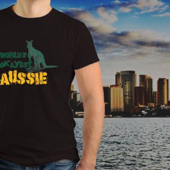 World's Okayest Aussie T-Shirt