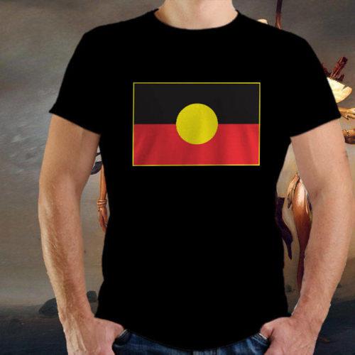 Classic Aboriginal Flag T-Shirt