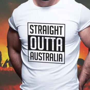 Straight Outta Australia T-Shirt