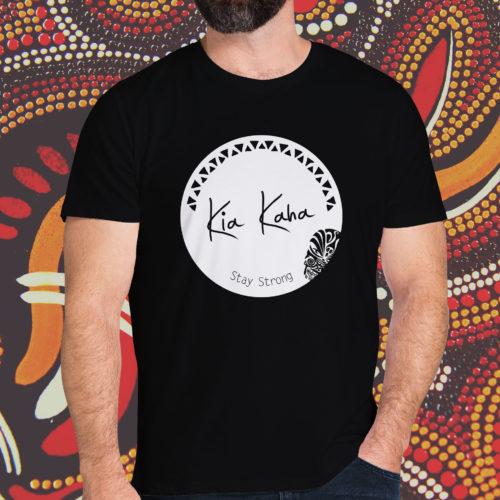 Kia Kaha Stay Strong Circle T-Shirt