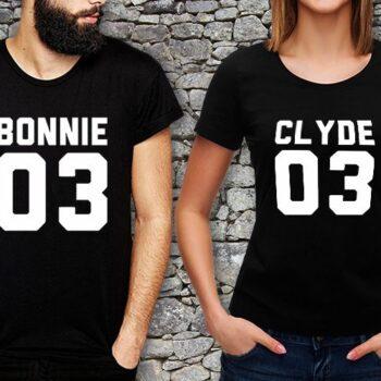 Bonnie Clyde Matching T-Shirts