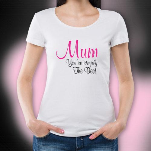 The Best Mum T-Shirt