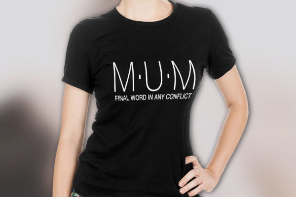 Final Word In Any Conflict T-Shirt