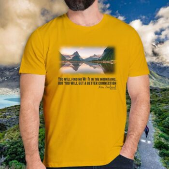 Milford Sound Positive Vibes T-Shirt