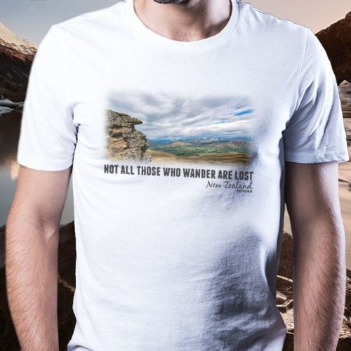 Northern Southland Landscapes NZ T-Shirt