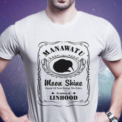 Manawatu Moon Shine Printed T-Shirt