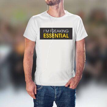Feaking Essential T-Shirt - White Tee
