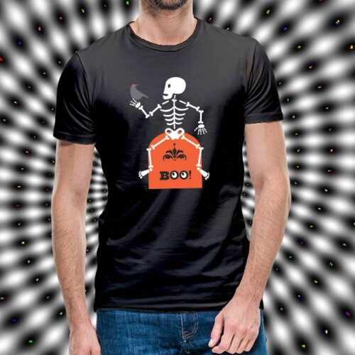 Skeleton Over Coffin T-Shirt