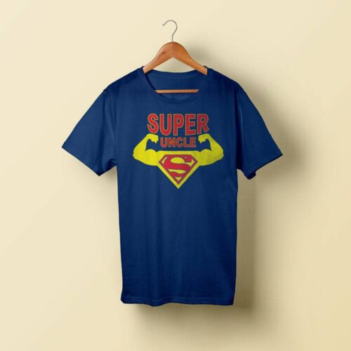 Muscular Super Uncle T-Shirt