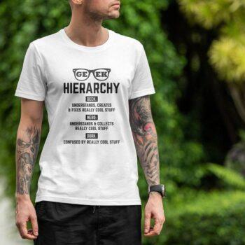 Nerd Hierarchy T-Shirt
