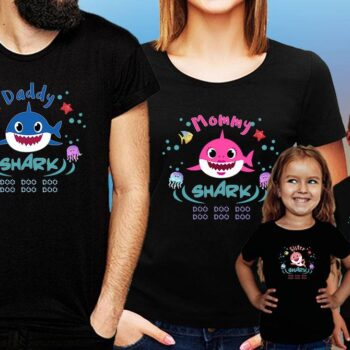 Shark Family T-Shirt