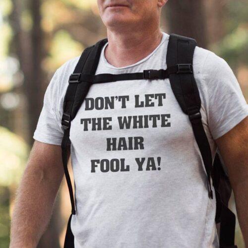 The White Hair T-Shirt
