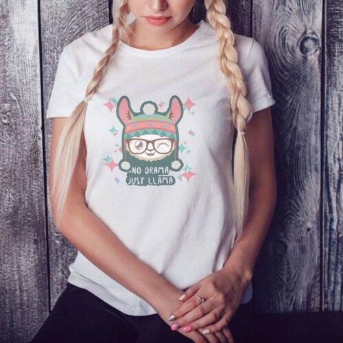 No Drama Just Llama T-Shirt