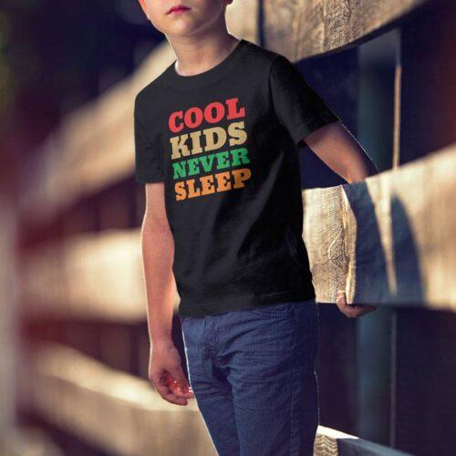 Cool Kids Never Sleep T-Shirt