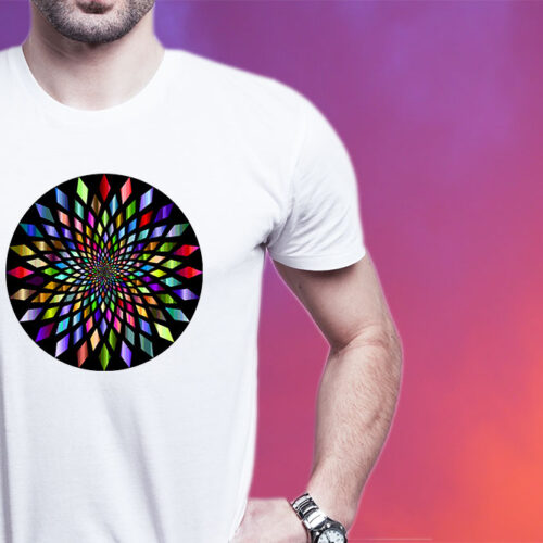 Psychedelic Circle Tee