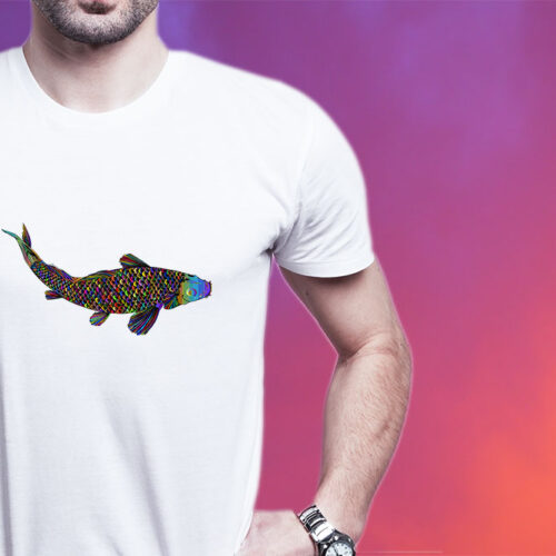 Psychedelic Shark T-Shirt