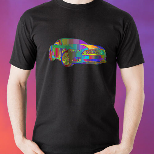 Psychedelic Cool Car T-Shirt