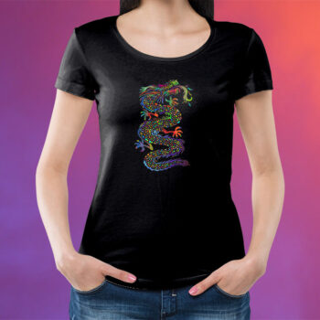Psychedelic Dragon T-Shirt