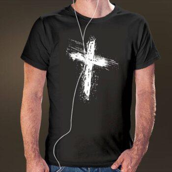 Grunge Cross T-Shirt