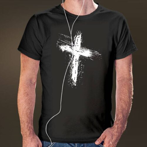 Grunge Cross T-Shirt