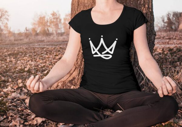 Crown Outline T-Shirt