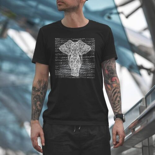 Artistic Elephant T-Shirt