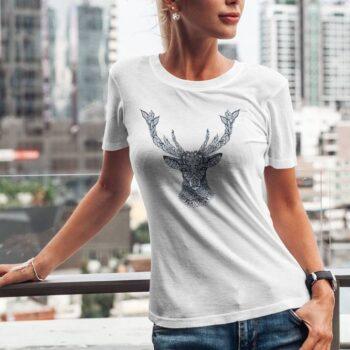Artistic Deer T-Shirt