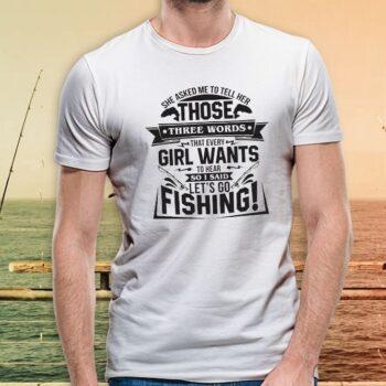 Three Words T-Shirt