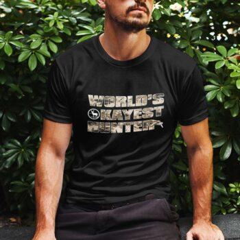 World's Okayest Hunter T-Shirt