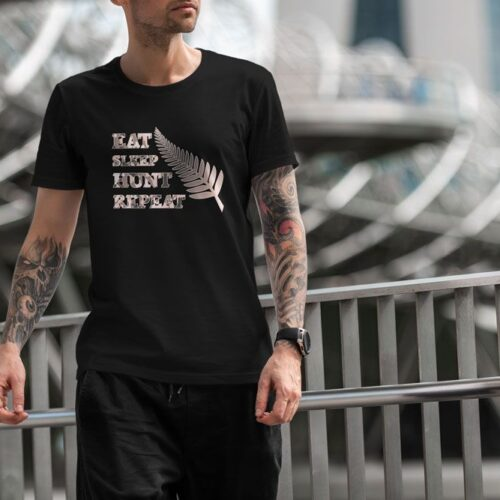 Eat Sleep Hunt Repeat T-Shirt